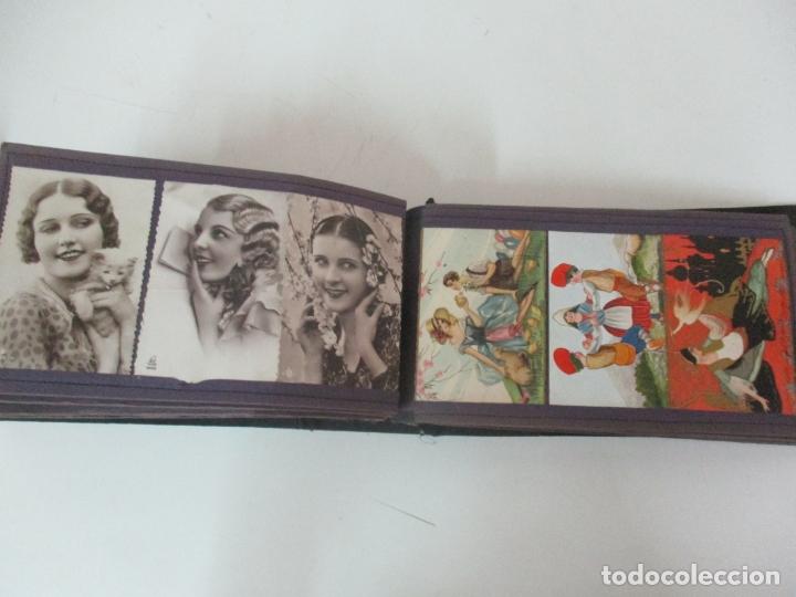 Postales: Antiguo Álbum de Postales - con 61 Páginas - 329 postales Diferentes Temáticas - Principios S. XX - Foto 49 - 166084602