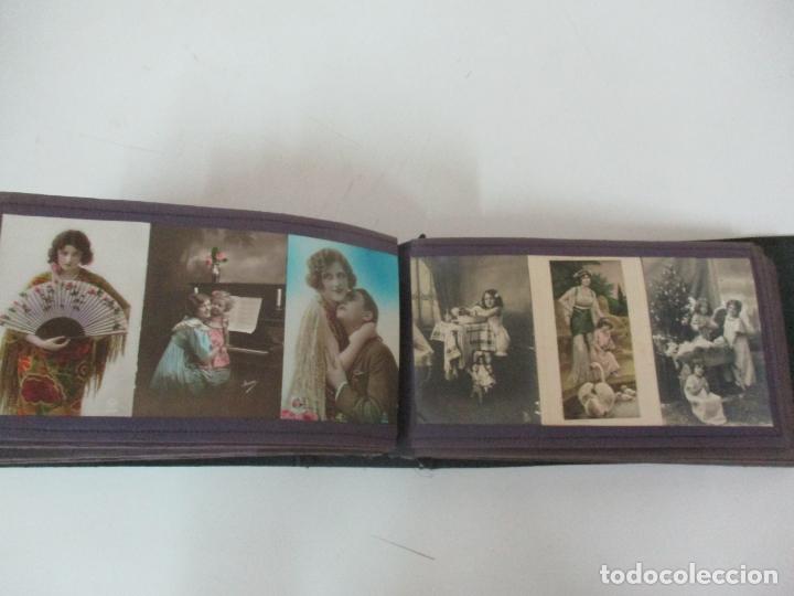 Postales: Antiguo Álbum de Postales - con 61 Páginas - 329 postales Diferentes Temáticas - Principios S. XX - Foto 50 - 166084602