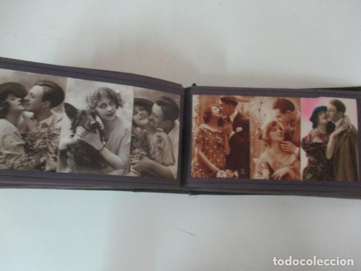Postales: Antiguo Álbum de Postales - con 61 Páginas - 329 postales Diferentes Temáticas - Principios S. XX - Foto 51 - 166084602