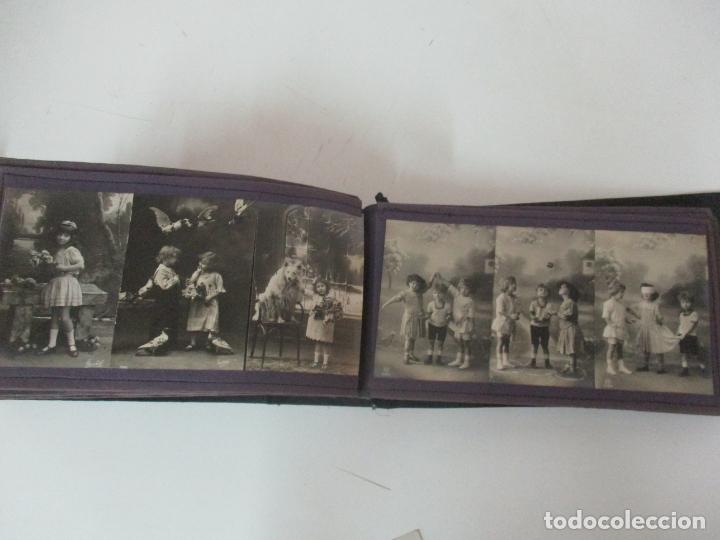 Postales: Antiguo Álbum de Postales - con 61 Páginas - 329 postales Diferentes Temáticas - Principios S. XX - Foto 53 - 166084602