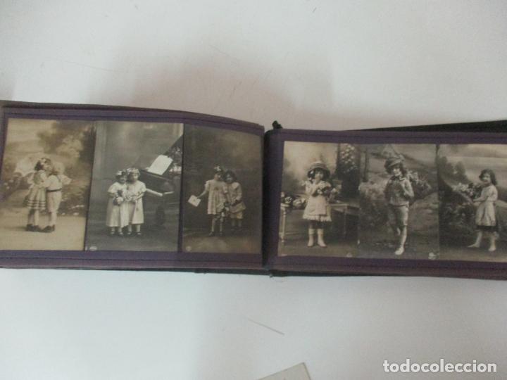 Postales: Antiguo Álbum de Postales - con 61 Páginas - 329 postales Diferentes Temáticas - Principios S. XX - Foto 54 - 166084602