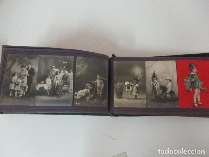 Postales: Antiguo Álbum de Postales - con 61 Páginas - 329 postales Diferentes Temáticas - Principios S. XX - Foto 55 - 166084602
