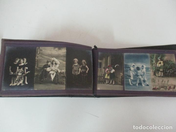 Postales: Antiguo Álbum de Postales - con 61 Páginas - 329 postales Diferentes Temáticas - Principios S. XX - Foto 56 - 166084602
