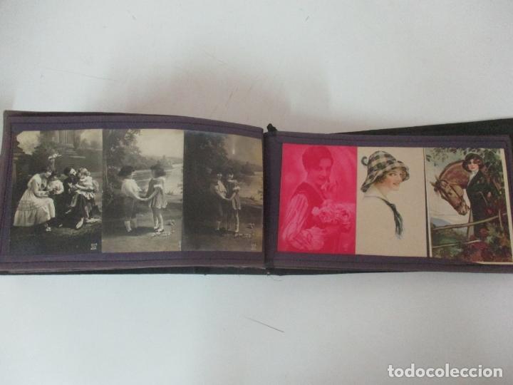 Postales: Antiguo Álbum de Postales - con 61 Páginas - 329 postales Diferentes Temáticas - Principios S. XX - Foto 57 - 166084602