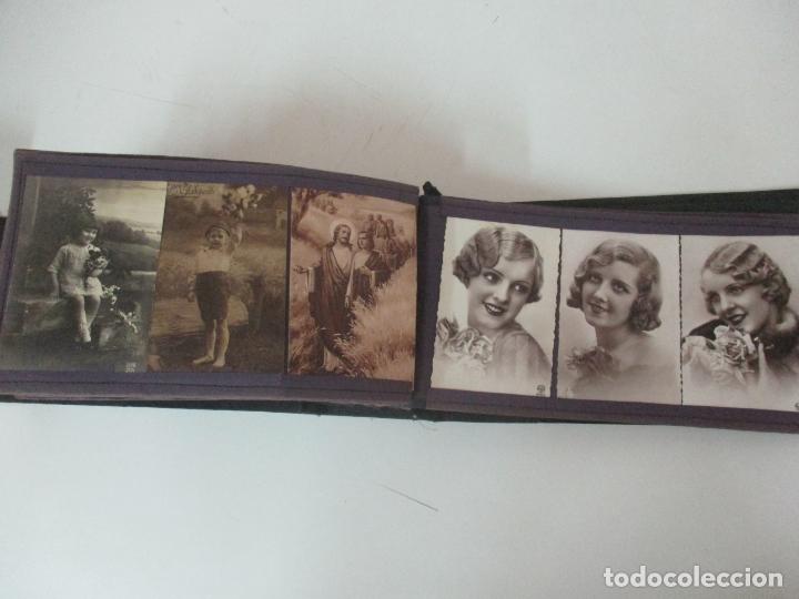 Postales: Antiguo Álbum de Postales - con 61 Páginas - 329 postales Diferentes Temáticas - Principios S. XX - Foto 58 - 166084602