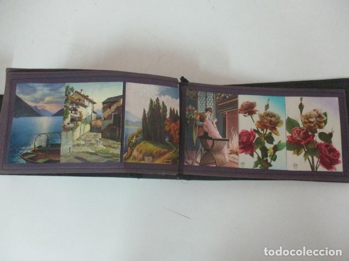 Postales: Antiguo Álbum de Postales - con 61 Páginas - 329 postales Diferentes Temáticas - Principios S. XX - Foto 59 - 166084602