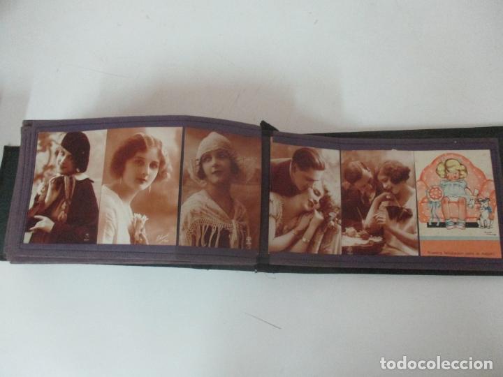 Postales: Antiguo Álbum de Postales - con 61 Páginas - 329 postales Diferentes Temáticas - Principios S. XX - Foto 61 - 166084602