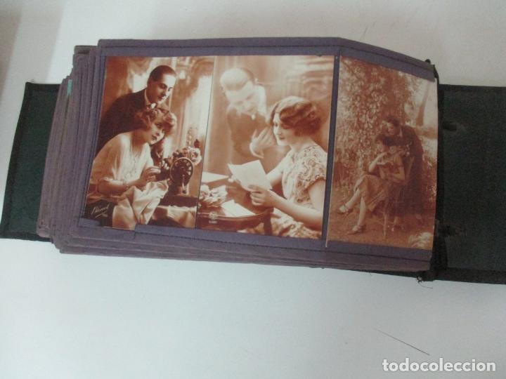 Postales: Antiguo Álbum de Postales - con 61 Páginas - 329 postales Diferentes Temáticas - Principios S. XX - Foto 62 - 166084602