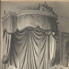 Postales: POSTAL FRANCIA. MUSÉE DES ARTS DECORATIFS. LIT EPOQUE LOUIS XVI. ND. PRINCIPIOS DEL SIGLO XX.. Lote 175266147