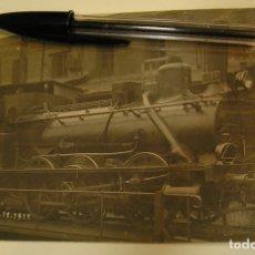 Postales: ANTIGUA TARJETA POSTAL POSTAL FOTOGRAFICA LOCOMOTORA MAQUINA DE TREN AÑO 1911 (19). Lote 175279799