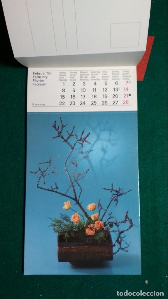 Postales: CALENDRIER 1993 A CARTES POSTALES IKEBANA COMPLETO Ver fotos - Foto 4 - 175453732