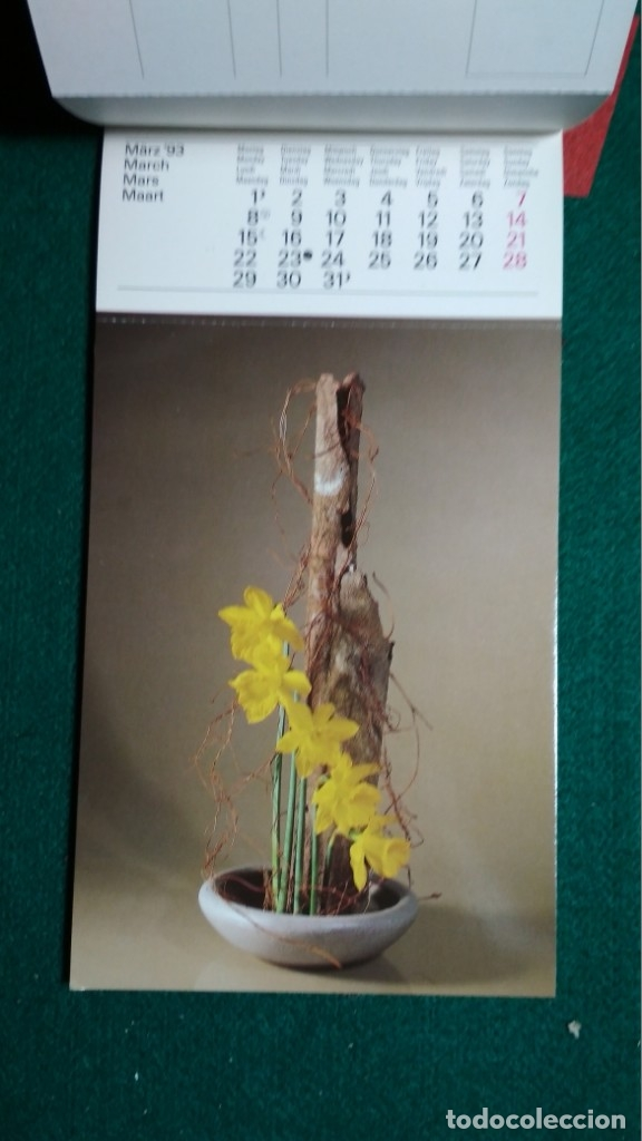 Postales: CALENDRIER 1993 A CARTES POSTALES IKEBANA COMPLETO Ver fotos - Foto 5 - 175453732