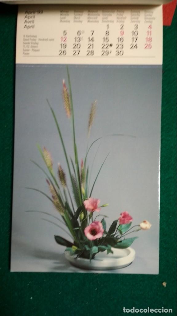 Postales: CALENDRIER 1993 A CARTES POSTALES IKEBANA COMPLETO Ver fotos - Foto 6 - 175453732