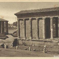 Postales: POSTAL ITALIA. ROMA. TEMPLO DE LA FORTUNA VIRIL Y DE VESTA PRINCIPIOS SIGLO XX. 9X14 CM.. Lote 175511133