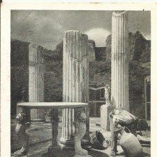 Postales: POSTAL ITALIA. POMPEYA. POMPEI. SCAVI DELLA CASA NUOVA. 65. ESPOSITO. 9X14 CM. PRINCIPIOS SIGLO XX.. Lote 175603958