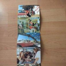 Postales: DESPLEGABLE 5 POSTALES PUBLICITARIAS «CHESTERFIELD» . Lote 175661050