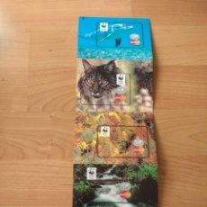Postales: DESPLEGABLE 4 POSTALES PUBLICITARIAS «MASTERCARD» . Lote 175661182