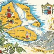 Postales: FRANCIA. ILE DE LA REUNION. OCEAN INDIEN. 2000. BUEN ESTADO. 10X15 CM.. Lote 175748812