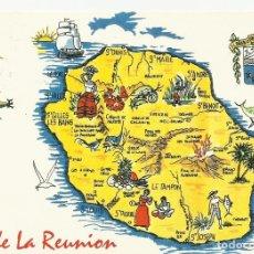 Postales: FRANCIA. ILE DE LA REUNION. OCEAN INDIEN. 2000. BUEN ESTADO. 10X15 CM.. Lote 175748850