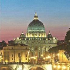 Postales: ITALIA. ROMA. SAN PEDRO. EL VATICANO. BUEN ESTADO. 12X17 CM. SIGLO XXI. . Lote 175993955