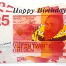 Postales: POSTAL HOLANDA. 25 HAPPY BIRTHDAY. Lote 176212149