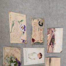 Postales: LOTE 7 ANTIGUAS POSTALES AÑOS 10 S. XX. Lote 177256223