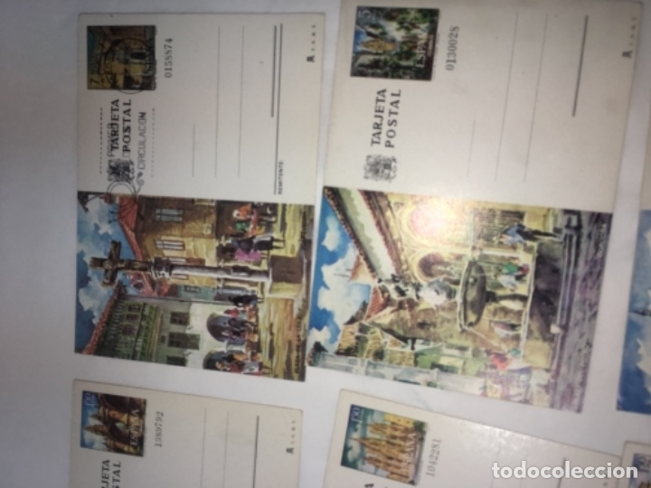Postales: LOTE de 9 postales variadas con sello y matasellos ENTRA TODO. - Foto 3 - 177266533