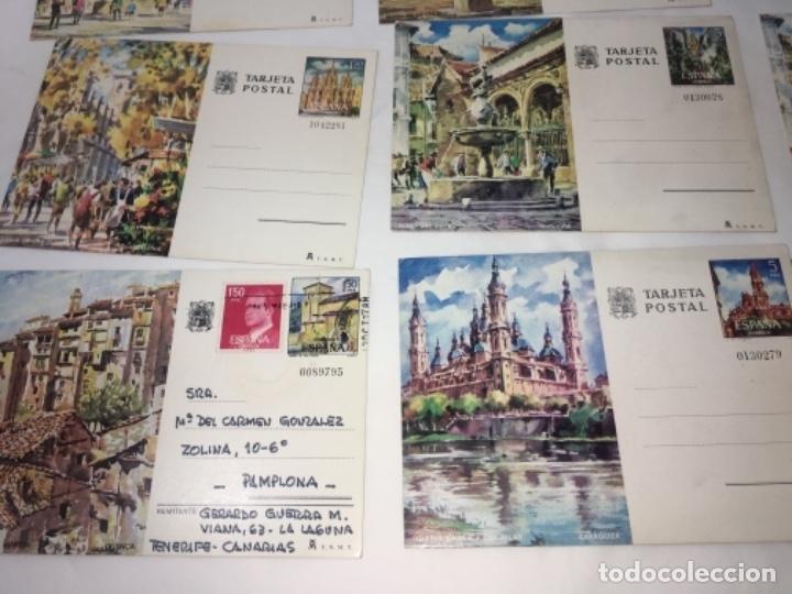 Postales: LOTE de 9 postales variadas con sello y matasellos ENTRA TODO. - Foto 5 - 177266533
