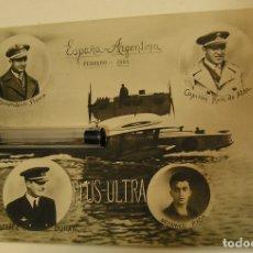 Postales: POSTAL FOTOGRAFICA DE ESPAÑA-ARGENTINA FEBRERO 1926 VUELO PLUS ULTRA IMPECABLE (19). Lote 206459181