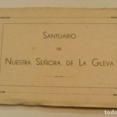 Postales: ÁLBUM 20 POSTALES - NUESTRA SEÑORA DE LA GLEVA - HUECOGRABADO FOURNIER, VITORIA - COMPLETA (19). Lote 177486577