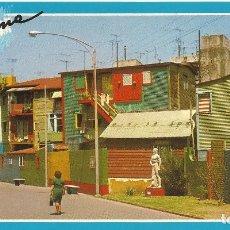 Postales: BUENOS AIRES. BARRIO DE LA BOCA. CAMINITO. ARGENTINA. AÑOS 80. . Lote 177613160