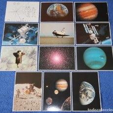 Postales: LOTE DE POSTALES - NASA ¡IMPECABLES!. Lote 177758227