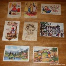 Postales: ANTIGUAS TARJETAS POSTALES DIBUJOS. Lote 177793883