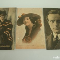 Postales: 3 POSTALES DE CINE. Lote 178036969