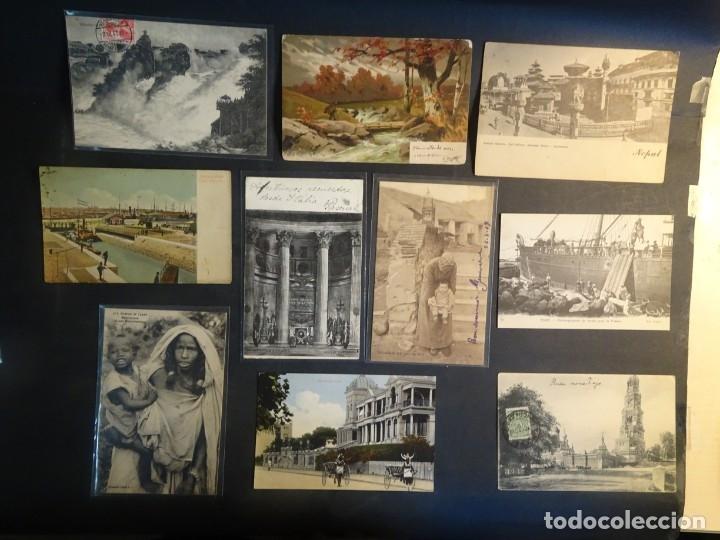 Postales: LOTE DE 10 POSTALES CPA ANTIGUAS VARIOS PAISES, CASI TODAS CIRCULADAS, VER FOTOS - Foto 2 - 178399892