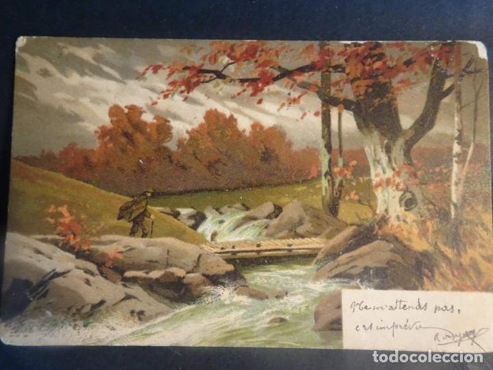 Postales: LOTE DE 10 POSTALES CPA ANTIGUAS VARIOS PAISES, CASI TODAS CIRCULADAS, VER FOTOS - Foto 8 - 178399892