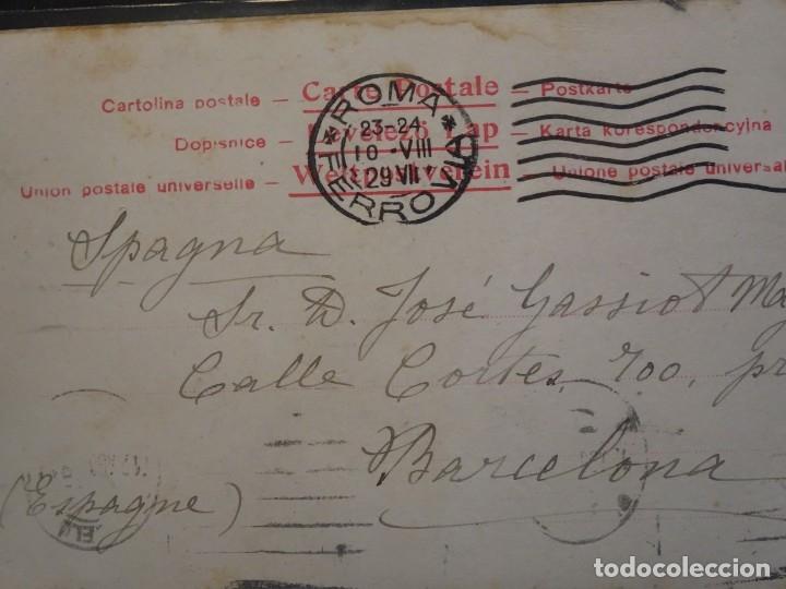 Postales: LOTE DE 10 POSTALES CPA ANTIGUAS VARIOS PAISES, CASI TODAS CIRCULADAS, VER FOTOS - Foto 16 - 178399892