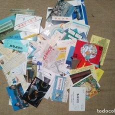 Postales: LOTE 100 POSTALES DEL MUNDO RADIOAFICIONADOS AÑOS 80 Y 90. Lote 178642153