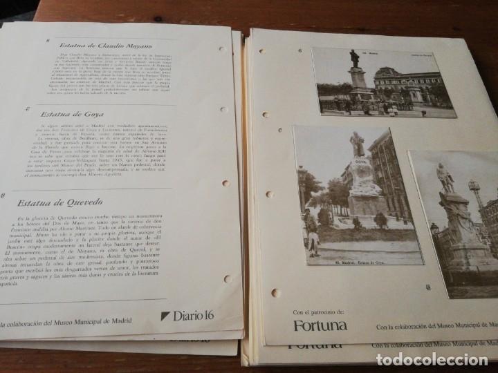 Postales: Colección de postales. Recuerdos de Madrid. Incompleta. Faltan 2. - Foto 3 - 178650655