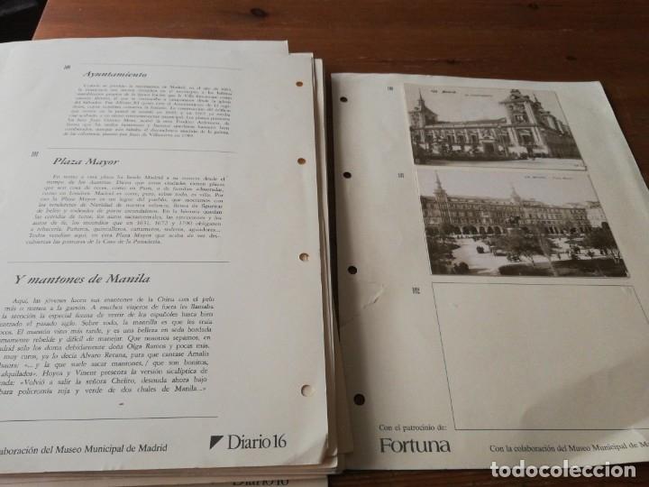 Postales: Colección de postales. Recuerdos de Madrid. Incompleta. Faltan 2. - Foto 5 - 178650655