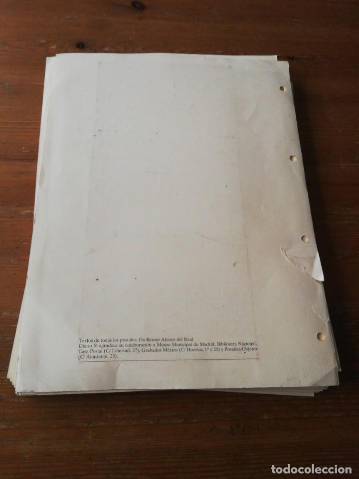 Postales: Colección de postales. Recuerdos de Madrid. Incompleta. Faltan 2. - Foto 6 - 178650655