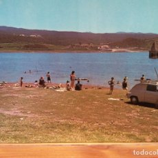 Postales: PANTANO DE SAU. PLAYA DEL HOSTAL LA RIBA. NUEVA. Lote 179405547