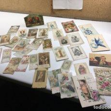 Postales: LOTE DE POSTALES TROQUELADAS, UNA TIPO DIORAMA. Lote 179538553