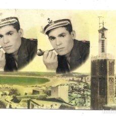Postales: POSTAL PAISAJE Y HOMBRE FUMANDO EN PIPA, GEVAERT. SIN CIRCULAR.. Lote 180136625
