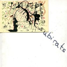 Postales: POSTAL SALVADOR DALI SOBRE LOTERIA AÑO 1976 . Lote 180189517