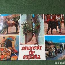 Postales: POSTAL-SOUVENIR DE ESPAÑA VISTAS - LA DE LA FOTO VER TODOS MIS LOTES DE POSTALES. Lote 180331313