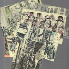 Postales: SERIE COMPLETA 12 POSTALES LOTERIA NACIONAL - SERIE B ( AÑO 1974). Lote 180445401