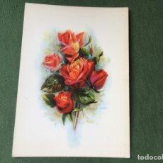 Postales: POSTAL- FLORES- LA DE LA FOTO VER TODOS MIS LOTES DE POSTALES. Lote 181351173