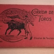 Postales: LIBRO 12 POSTALES CORRIDA DE TOROS. Lote 181804285