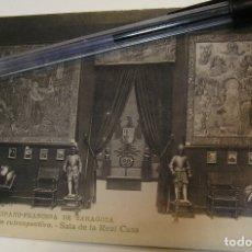 Postales: ANTIGUA TARJETA POSTAL EXPOSICION HISPANO FRANCESA Nª 19 SALA DE LA REAL CASA (19). Lote 182222807